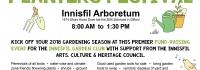 Innisfil Garden Club, Fund Raiser, Garden Tools, art, bake sale, perennials, ground covers, shade plants, garden tools, local artists, music, Fitzees, BBQ lunch,