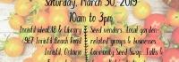 Innisfil Seedy Saturday, Innisfil Garden Club, Innisfil ideaLAB & Library, Innisfil Arts Culture and Heritage Council, IACHC, Spring Gardening,