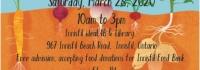 Innisfil Seedy Saturday, IACHC, Innisfil Seed Library, ideaLAB & Library