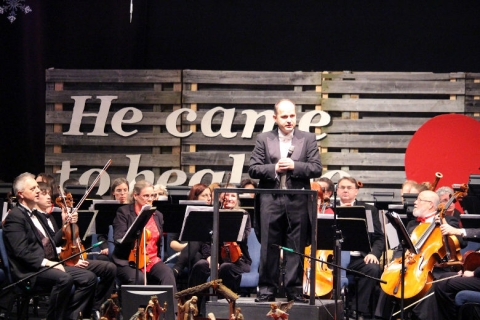 HSO Huronia Symphony Orchestra, Christmas concert, Innisfil, Community Church