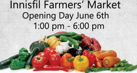 Innisfil Farmers Market Opening Day 2019, June 6 2019, IACHC, Dunk Tank, Fund raiser,