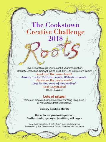 Cookstown Creative Frame Challenge 2018