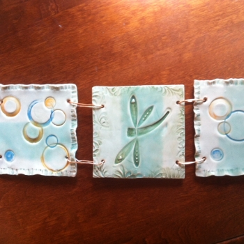 Kimberly Evan-Milak, Pottery, Innisfil, Barrie, Ontario, Wall hangings, garden art, handcrafted