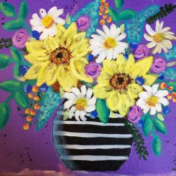 Sue Trottier, IACHC member, Innisfil, Painting
