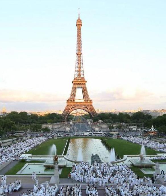 Dinner in White Paris, Dinner in White Innisfil, Diner en Blanc,