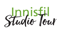 Innisfil Studio Tour logo, Art, artisan, fall studio tour,