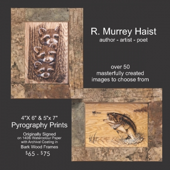 R. Murrey Haist, Author, Artists, Poet, Innisfil, IACHC, Innisifl Arts, Culture